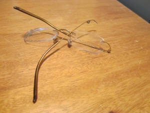 Remains of my old glasses